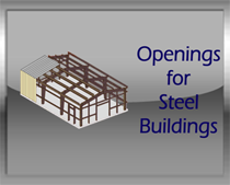 Steel Doors and Frames for Steel Buildings